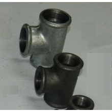 Pärlstav Typ Smältbart Iron Pipe Fittings Tee