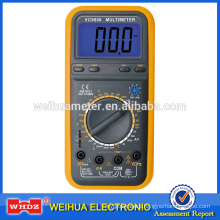 Digital Multimeter VC9808 with Frequency Capacitance Temperature Buzzer Inductance