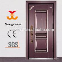 Acero exterior puerta de seguridad