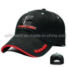 Custom Metal Emblem Embrodier Sandwich Sport Baseball Cap (TMB6228)
