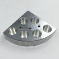 Componentes de usinagem de alumínio para equipamentos de laboratório