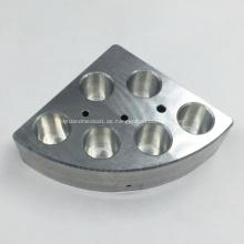 Bearbeitung von Aluminiumkomponenten für Laborgeräte