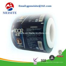 Rollo de película de embalaje de material laminado personalizado para bolsa de empaquetado de bolsa