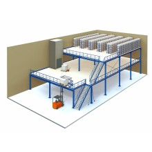 Warehouse Mezzanine Floor System Introduction