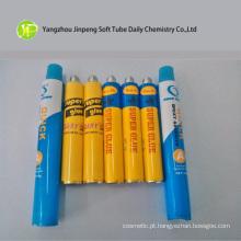 Tubo de embalagens de alumínio para Super cola