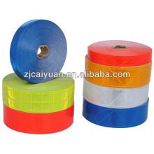 Alta qualidade PVC reflexivo fita costurar roupas bonés etc