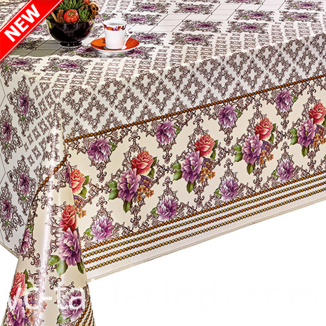 Cheap Price of Pvc Printed Tablecloth