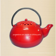 Enamel Cast Iron Tea Kettle Manufacturer From China