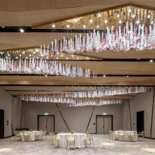 Forme Diversiform adaptable para la lámpara de cristal de la palmatoria de la conferencia en casa