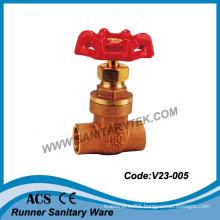 Brass Gate Valve for Welding (V23-005)