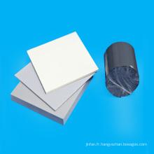 Feuille de PVC d'épaisseur de 1,5 mm en stock