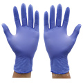 Purple Dental Disposable Nitrile Gloves