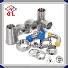 Raccord de tuyauterie de qualité alimentaire 304 / 316L en acier inoxydable