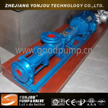 Textile Dyes Viscous Slurry Transfer Single Screw Pump
