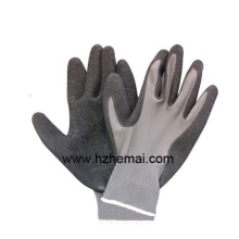 Palm Coated Latex Gloves Construction Gloves Work Glove