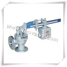 Soupape de sécurité de pression à levier unique en acier inoxydable (SA47Y)