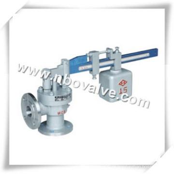 Válvula de segurança de pressão de alavanca única de aço inoxidável (SA47Y)