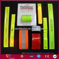 reflective gear for running, walking, biking,reflective snap wrist & ankle pop bands