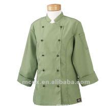 Пользовательские горячая распродажа рабочая одежда с длинным рукавом ресторан униформа