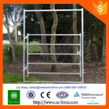 Clôture d'obstacles lourds et galvanisés