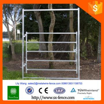 Тяжелая оцинкованная ограда для скота