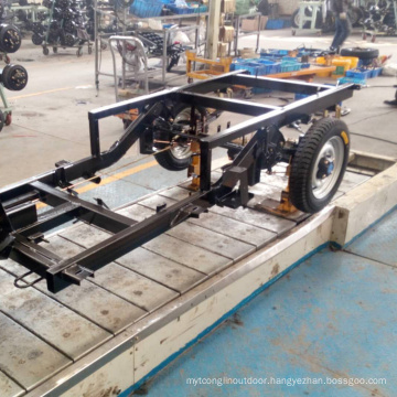 Tricycle Assembly Line Slat Chain Conveyors