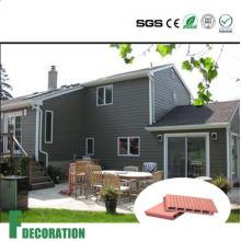 Nuevo panel de pared compuesto material de WPC para la casa de madera