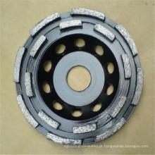roda de moedura da superfície do diamante aglomerado por atacado da fábrica para o assoalho