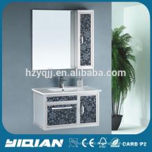 Neue mitgelieferte keramische Waschbecken für Aluminium Badezimmer Schrank