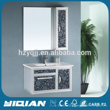 Nouveau lavabo en céramique fourni pour le cabinet de salle de bain en aluminium