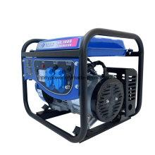 Gerador silencioso aberto diesel da gasolina portátil de Honypower Hy1000 1kw 1.2kVA feito em China