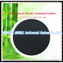 Holz / Bambus basierte Gemüse-Kohlenstoff-Pulver Jod 900 mg / g Aktivkohle