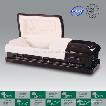 LUXES High Standard Wood Caskets Bed Funeral Supplies