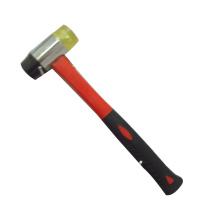 Hammer mit Plastikhandgriff bedeckter Fiberglas-Handgriff