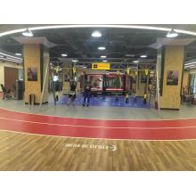 Vinyl gym flooring mats