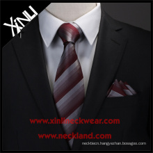 Dry-clean Only Polyester Jacquard Woven Custom Skinny Ties Men