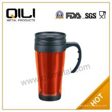 tasse de voyage 16oz éco-BPA libre inox gros thé café