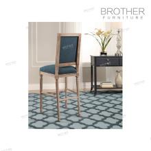 Silla alta de alta calidad del taburete de bar del respaldo de madera de los muebles antiguos antiguos de alta calidad