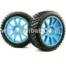 Neumáticos de goma personalizados RC juguete