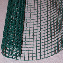 Green PVC Welded Wire Steel Mesh