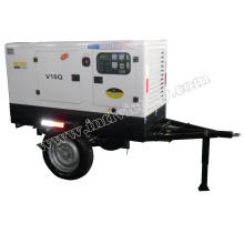 20kVA ~ 1100kVA Silent Trailer montado Diesel Gensets