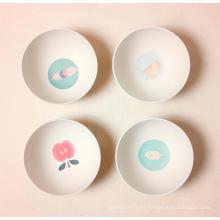 (BC-B1041) Hot-Sell Natural Bamboo Fiber Tableware Bowl
