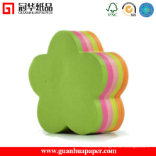 SGS Flower Shaped Notepads Good Quality Sticky Notes