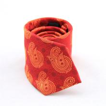 Nouveaux cravates uniques classiques de cravate florale de polyester cravates élégantes d'hommes