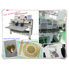 WY1202C Double Head Computer Boring Embroidery Machine Quality Like Cornely Embroidery Machine