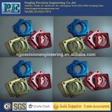 OEM custom anodized aluminum square gasket