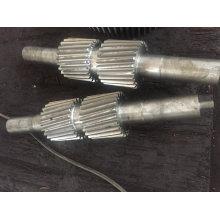 Personalize o eixo de engrenagem SAE52100 para transmissão