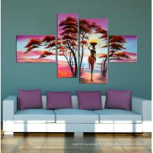 Décoration intérieure Abstrait Afican Canvas Art