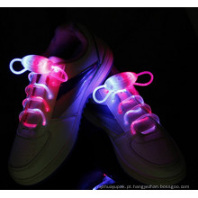 Brilhar! Cadarços LED Multicor Shoestring Flash Glow Stick!