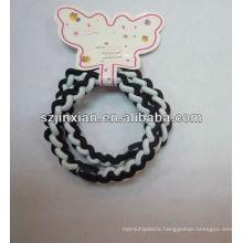 twisted elastic ponytail hair ring